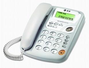 F004多功能来电显示福多多电话机-超大铃声!
