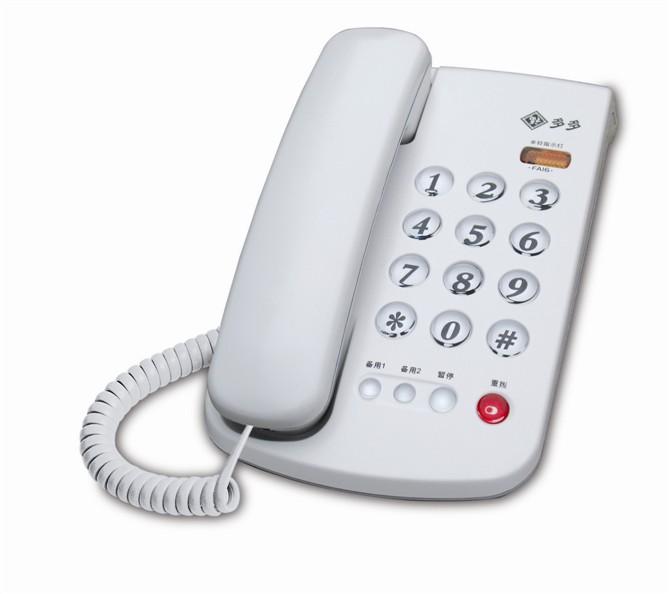 福多多电话机FA16 来电指示灯电话机