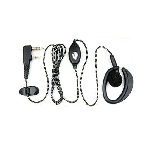 对讲机编织耳机